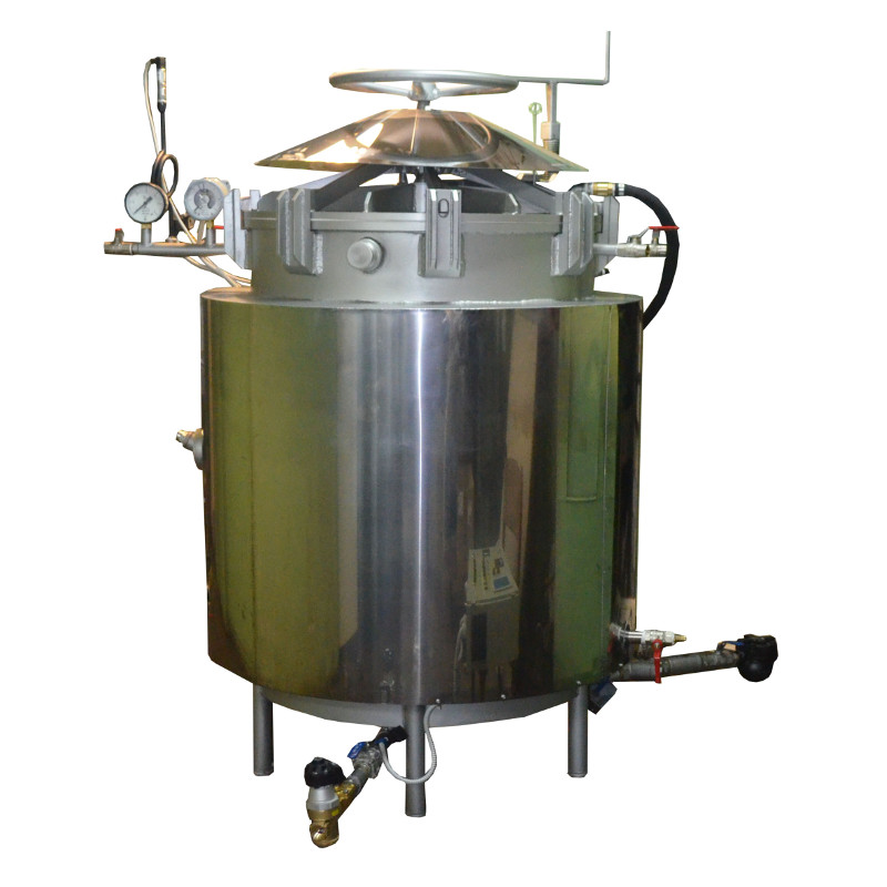 Autoclave For Production Of Canned Corn And Hemp Seeds