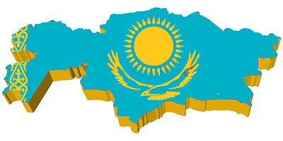 d-map-of-kazakhstan